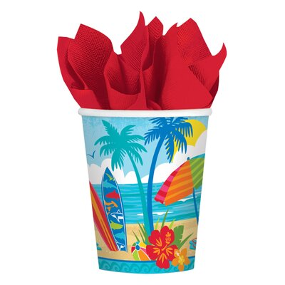 Summer Sun and Surf 9 oz. Paper Cup 731771