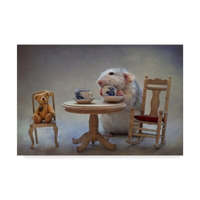 'Another Cup of Tea' Photographic Print on Wrapped Canvas 1X04907-C1219GG