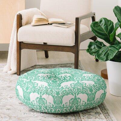 Jacqueline Maldonado Elephant Damask Hemlock Floor Pillow 24CB11ADBA2C4C9FB3343B6B6FCAE396