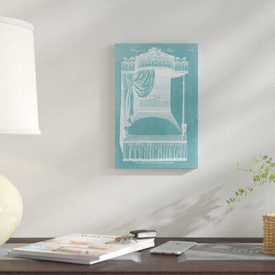 'Design for A Bed I' Graphic Art Print on Canvas E8D7BA848D5A4B32AE66C98E4AA25242