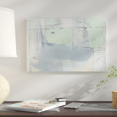 'Pastels in Wax III' Print on Canvas