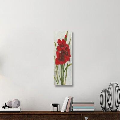 'Red Simplicity I' Print on Canvas C6743E0AA753451E98ACCD594907C753