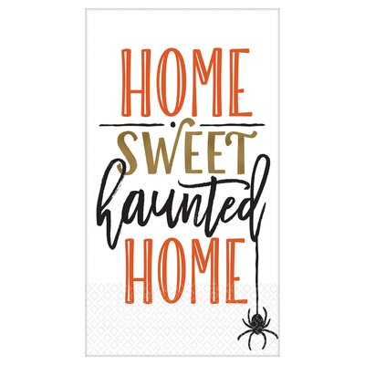 Halloween Haunted Home Guest Towel 53777727