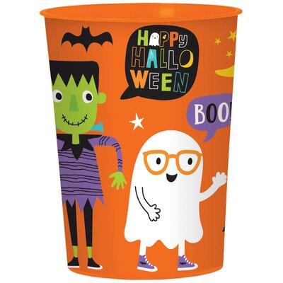 Halloween Friends 16 oz. Plastic Cup 422054