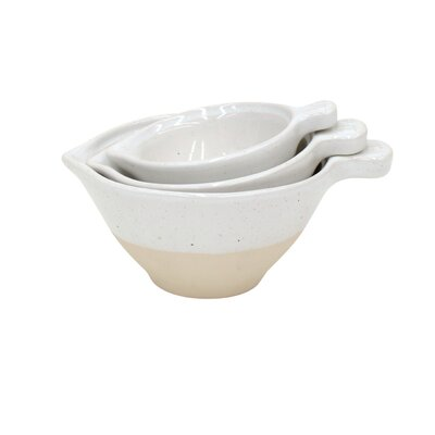 Fattoria 3 Piece Measuring Cups FA550/1/2-WHI