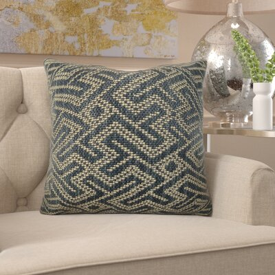 """Frausto Graphic Maze Luxury Couch Pillow Size: 12"""" x 20"""", Fill Material: H-allrgnc Polyfill 15AF50E8004E49FBB93FFCB6B6E3110A"""