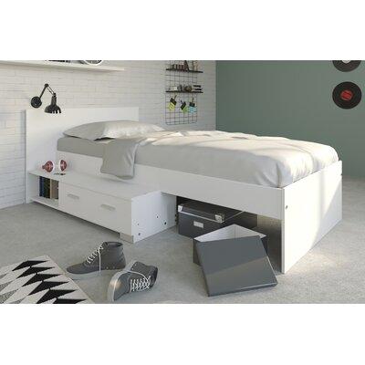 einzelbett evelyn mit schubladen 90 x 200 cm