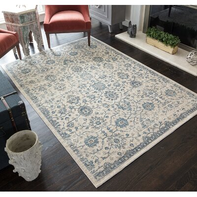 Park Transitional Ivory Indoor/outdoor Area Rug Rug Size: Rectangle 2