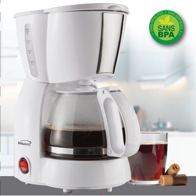 4-Cup Brentwood Coffee Maker BWTS213W_Brentwood_4cup_coffee_maker_white