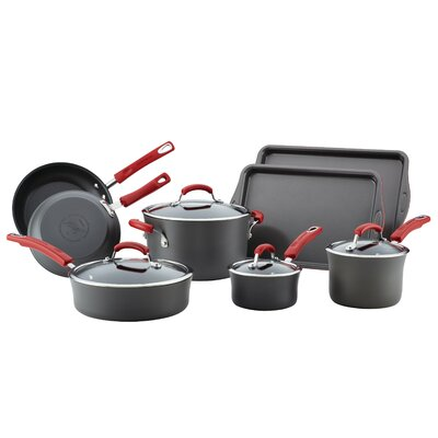 Hard-Anodized 12 Piece Non-Stick Cookware Set 87648
