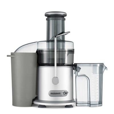 Entsafter Pro | Küche und Esszimmer > Küchengeräte > Entsafter | Blackgray | Edelstahl - Kunststoff | Gastroback