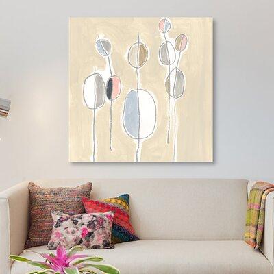 'String Garden IV' Print on Canvas JEV451-1PC