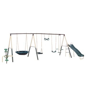 Natural Playland Deerfield Playground Swing Set