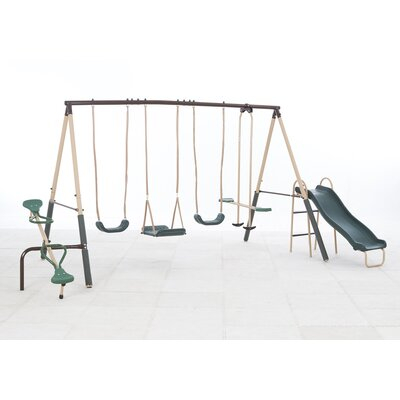 Natural Playland Crestview Swing Set