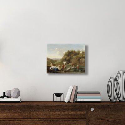 'Landscape with Bathing Nudes' Print  ETUC6834 7FFFC3CBE9BE4642AD88D0F7F43FBFAA
