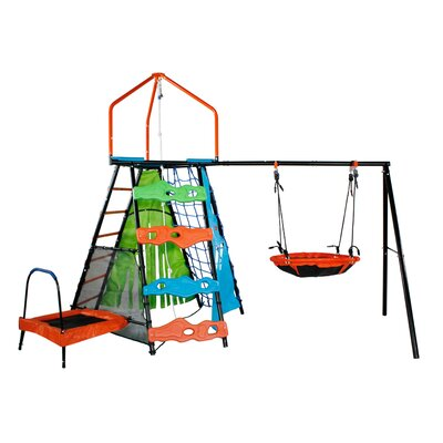 Bell Peak Play Swing Set (Wayfair Exclusive)