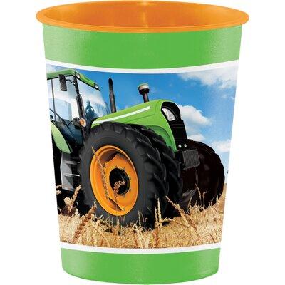 Tractor Time Keepsake 16 oz. Plastic Everyday Cup DTC318063TUMB