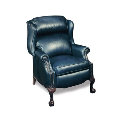 Presidential Reclining Wing Chair (leather 901200-84)