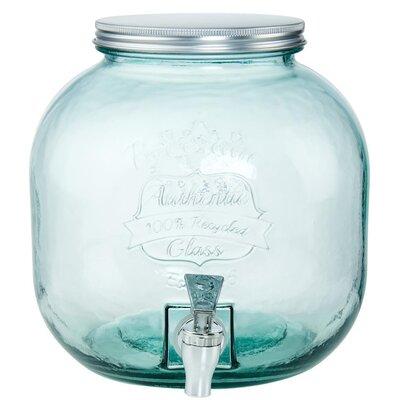 6 L Getränkespender Authentic | Küche und Esszimmer > Besteck und Geschirr > Karaffen | Green | Glas | Butlers