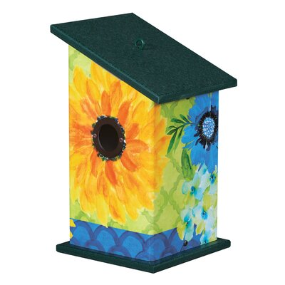 Fresh and Pretty Universal 12.25 in x 7 in x 7 in Birdhouse