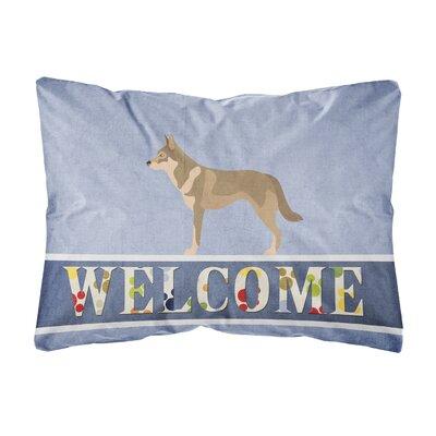 Jean Czechoslovakian Wolfdog Indoor/Outdoor Throw Pillow 8979C77675C147DD90737BEC28BB3E47