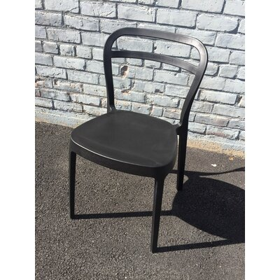 Mono Dining Chair Color: Black