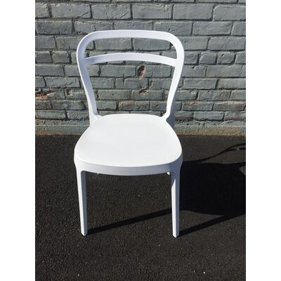 Mono Dining Chair Color: White