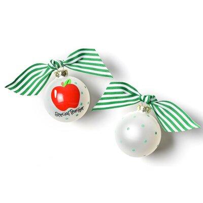 Special Teacher Glass Ball Ornament PO-SPECTEACH2