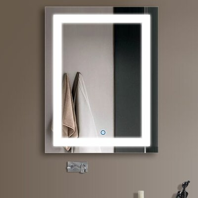Shoup LED Backlit Wall Mounted Bathroom / Vanity Mirror