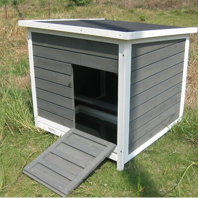 Detroit Nesting Roosting Box Chicken Coop With Metal Tray