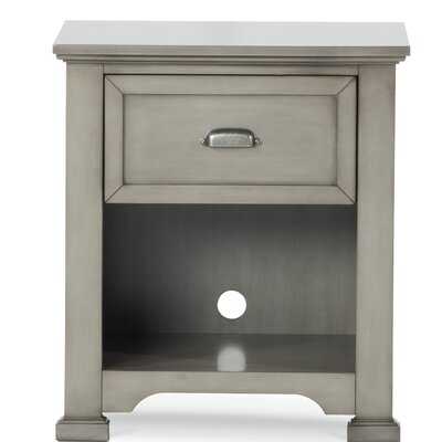 Roland 1 Drawer Nightstand Color: Mist