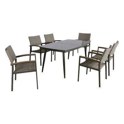 Image of Blaze 7 Piece Dining Set