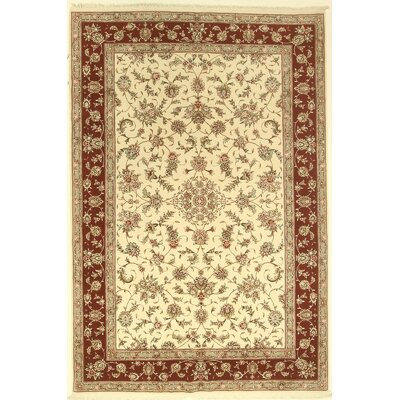 One-of-a-Kind Coppinger Hand-Knotted Ivory Area Rug BF175078