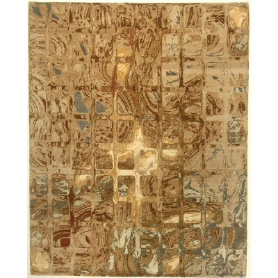 One-of-a-Kind Corington Hand-Knotted Brown Area Rug BI175081