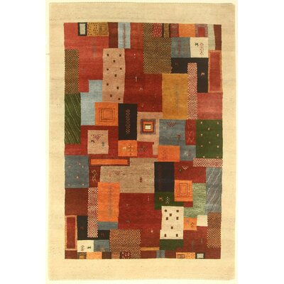 One-of-a-Kind Coralie Hand-Knotted Wool Red Area Rug BI175084