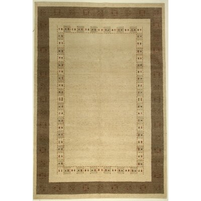 One-of-a-Kind Coralie Hand-Knotted Wool Ivory Area Rug BF175085