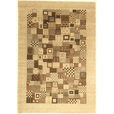One-of-a-Kind Coralie Hand-Knotted Wool Ivory Area Rug BF175084