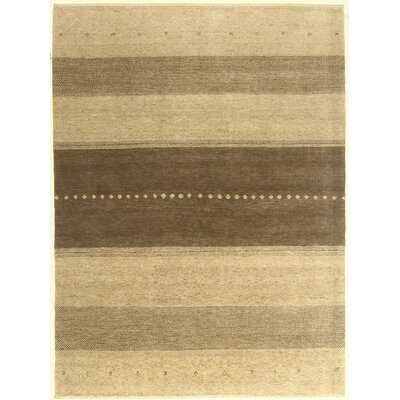 One-of-a-Kind Coralie Hand-Knotted Wool Ivory Area Rug BI175086