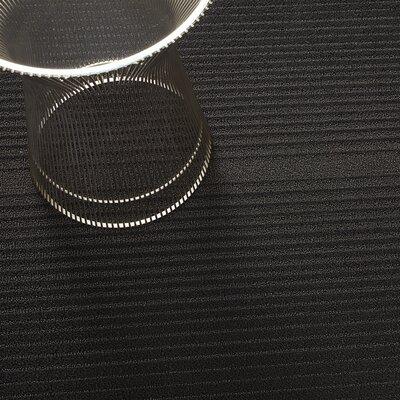 Ombre Shag Utility Mat Color: Black, Mat Size: Rectangle 36