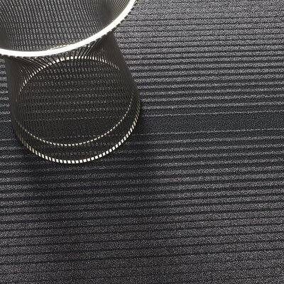 Ombre Shag Utility Mat Color: Gray, Mat Size: Rectangle 36