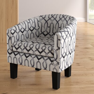 Ballew Barrel Chair Upholstery: Silver Gray