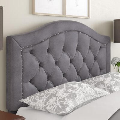 Gossman Upholstered Panel Headboard Size: Full/Queen DBHC4950 27052350
