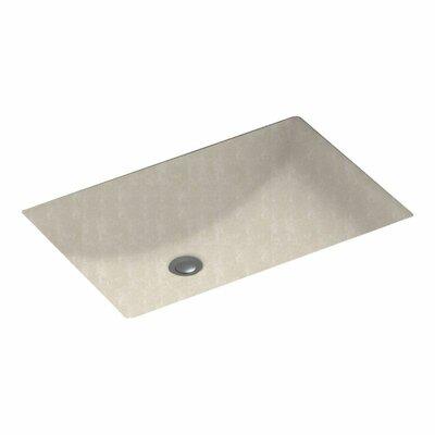Rectangular Undermount Bathroom Sink Sink Finish: Cloud Bone