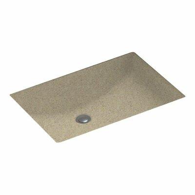 Rectangular Undermount Bathroom Sink Sink Finish: Prairie