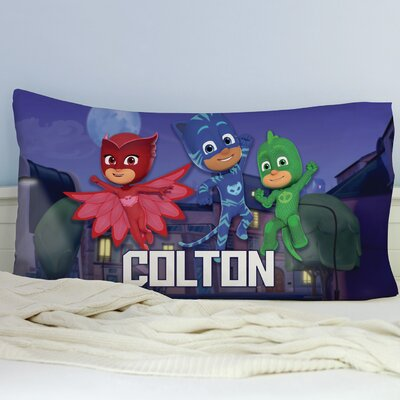 Personalized Pj Masks Nighttime Pillow Case