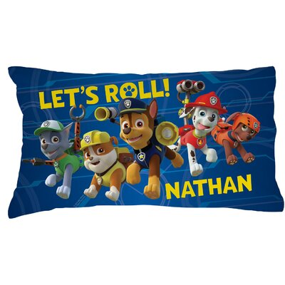 Personalized Paw Patrol Puptastic Pillow Case