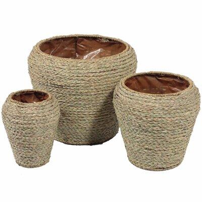 Well-Designed 3 Piece Wicker Basket Set BI179338
