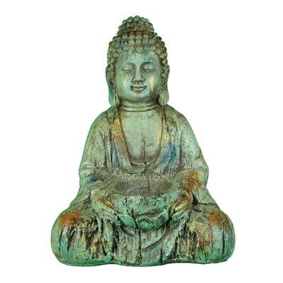 Lenworth Sitting and Meditating Buddha Figurine BF179340