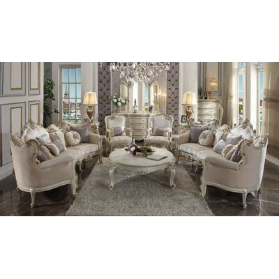 Caiden 3 Piece Configurable Living Room Set BF178588
