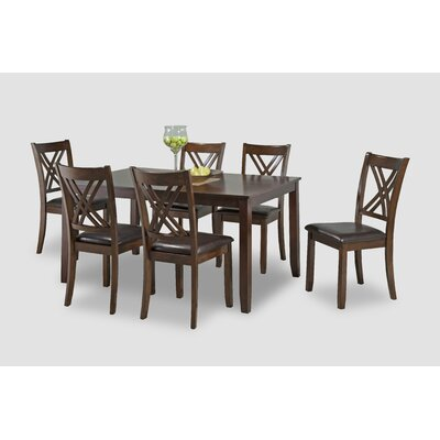 Heffington Casual Dinette 7 Piece Dining Set AAEFDFAB75CD42FF923A3226930AFD6A